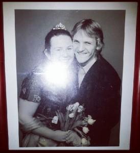 2006-12-09. Den borgerliga vigseln mellan mig och maken.