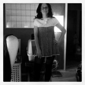 Fast med kläder på är jag en sexy lady ändå ;-)