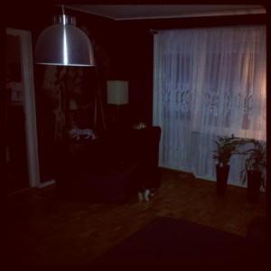 Vardagsrummet del 1.