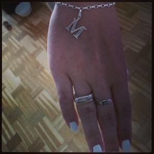 Armband & berlock som jag fick av maken  i förrgår :-)