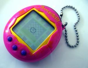 Tamagotchi - leksaken från 90-talet.