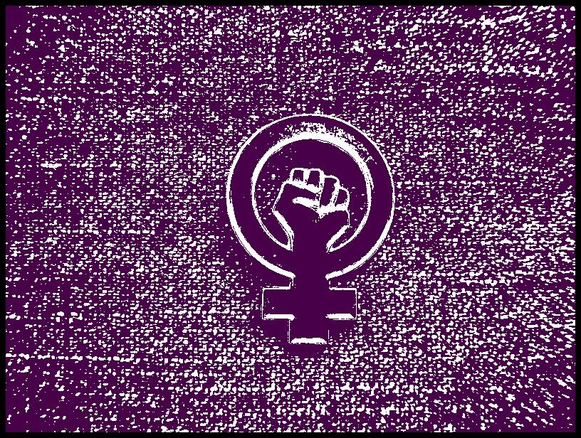 En feminist är en person som kämpar för mäns och kvinnors lika rättigheter, oavsett kön.