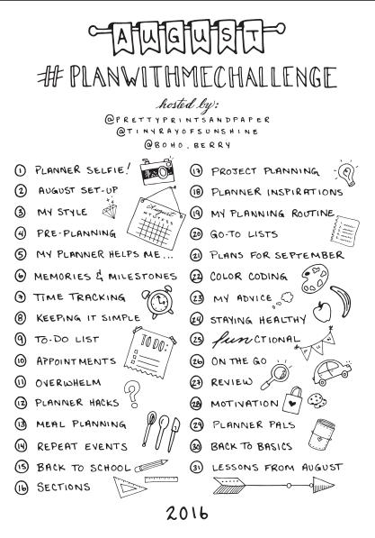 #PlanWithMeChallenge