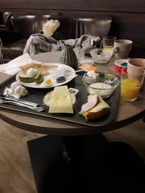 Frukost på Ica Maxi i Kalmar.